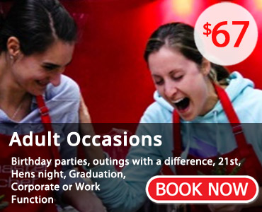 Book your special occasion now!