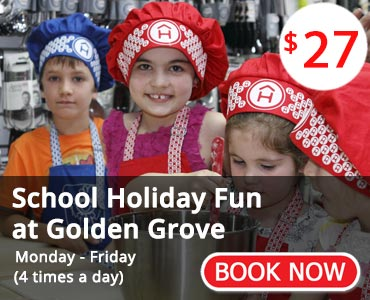 School Holiday Fun at Golden Grove