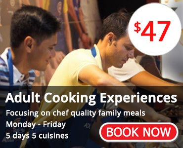 Adult Cooking Experiences - Book Now