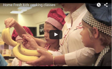 Homefresh kids cooking class video